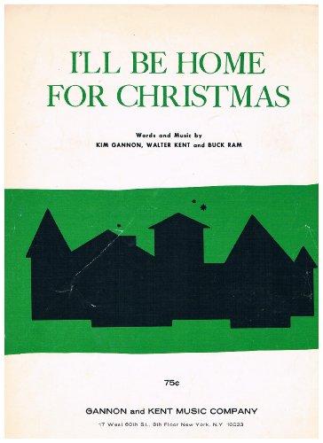 I'll Be Home For Christmas (Piano Vocal Guitar)