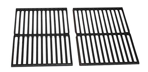 (Weber 65934 2PK Cast Iron Cooking Grates for most Genesis Silver A and Spirit 210 Grills)