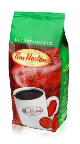 6 Tim Hortons Fine Grind Decaf Coffee 12oz Fresh Bags Full-flavored Swiss Water® Decaffeinated