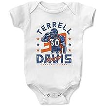 500 LEVEL Terrell Davis Baby Onesie - Vintage Denver Football Baby Clothes - Terrell Davis Yards