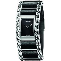 Calvin Klein K4R231C1 Impeccable Women's Quartz Watch (Black)