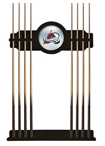 Holland Bar Stool Co. Colorado Avalanche Cue Rack in Black Finish