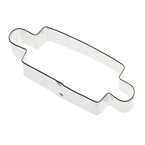 (Rolling Pin Cookie Cutter 4.5 in - Foose Cookie Cutters - USA Tin Steel)