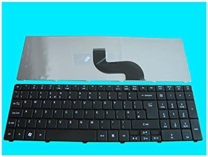 Laptop, Teclado del ordenador portátil Acer Aspire, QWERTY, negro, GB 0405-X