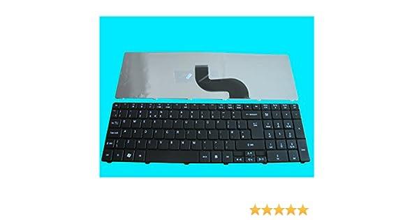 Laptop, Teclado del ordenador portátil Acer Aspire, QWERTY, negro, GB 0405-X: Amazon.es: Informática