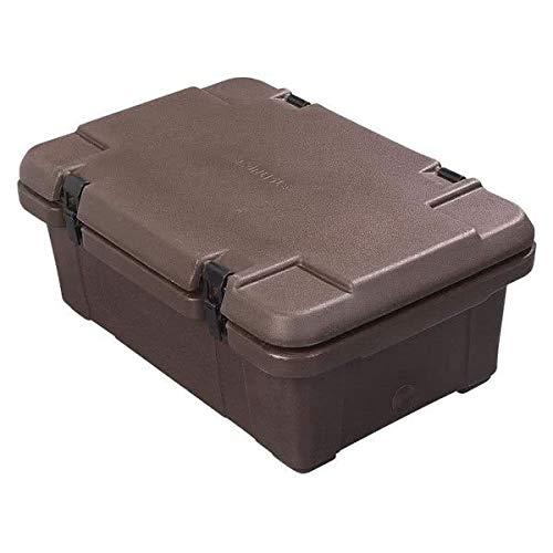 (Carlisle PC160N01 Cateraide Food Carrier 18-Quart, Brown)
