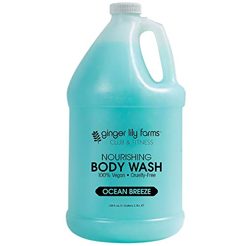 Ginger Lily Farms Club & Fitness Ocean Breeze Nourishing Body Wash 1 Gallon