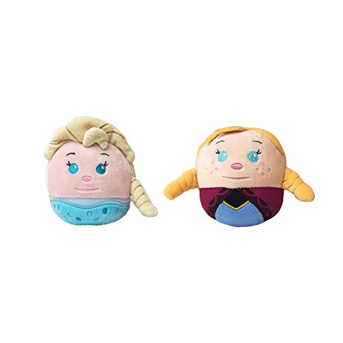 Disney Frozen Fluffball Ornament 2 Pack - Anna and Elsa (Moose A Moose Halloween Songs)