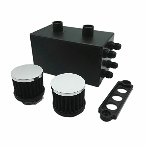 Heinmo Oil Catch Can Kit Breather Tank 4 Port Series for Honda Civic Integra EK EG DC by Heinmo (Image #3)