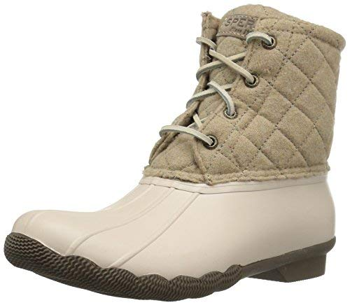 Sperry Women's Top-Sider Saltwater Quilt Wool Oyster/Oatmeal (6 M US)