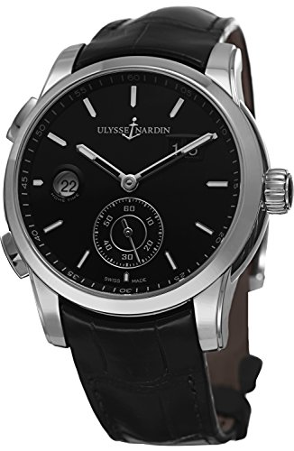 Ulysse Nardin Gmt Dual Time Men's Automatic GMT Watch 334-312-6/92 ()