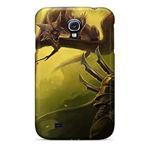New Premium Evanhappy42 Multicolor World Of Warcraft Fantasy Art Skin Cases Covers Excellent Fitted For Galaxy S4