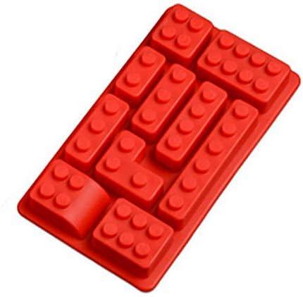 10 Holes Lego Brick Blocks Shaped Rectangular DIY Chocolate