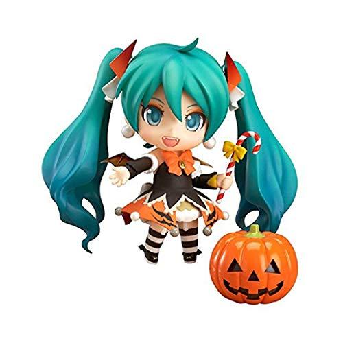 Yingjianjun Snow Miku: Halloween Nendoroid Action Figure(About 4 -
