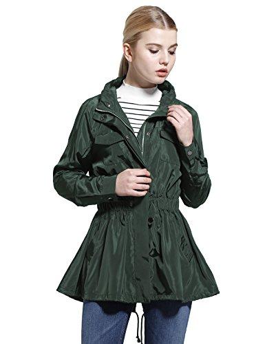 Womens Silk Clothing Coat Jacket - 4