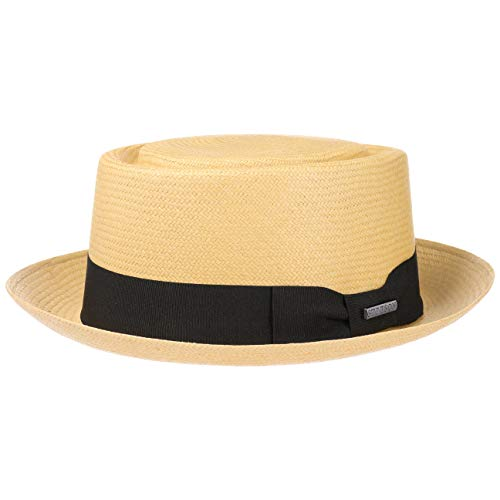 Stetson Classic Pork Pie Panama Hat Men Nature S (6 3/4-6 7/8)