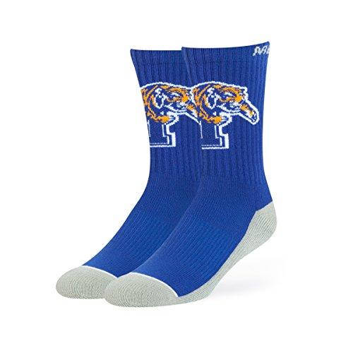 OTS NCAA Memphis Tigers Anthem Sport Socks, Large, Royal ()