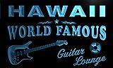 pf2011-b Hawaii Guitar Lounge Beer Bar Pub Room Neon Light Sign