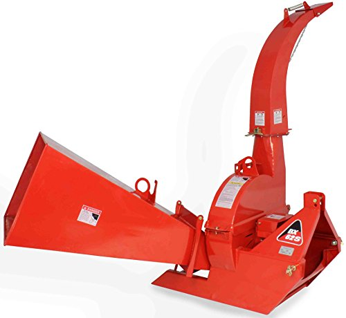 Wood-Chipper-3-point-attachment-Tractor-PTO-6x12-Automatic-Tree-Brush-BX62