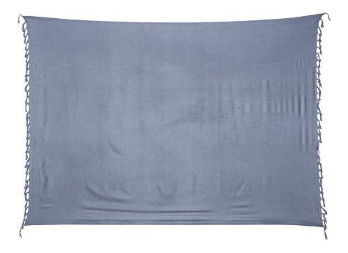 Kascha Trading - Camisola - para mujer gris claro