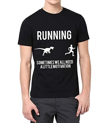 Black Men Funny Shirt - Adult Motivation Merchandise Sarcastic T Shirt (L) ()