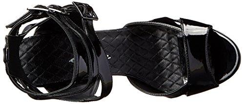 Ellie Sko Kvinders 609-athena Platform Sandal Sort UT8gVSZ38