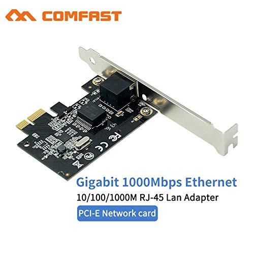 Comfast CF-P10 Realtek 8111F PCI-E Gigabit Ethernet Network Card 10/100/1000Mbps LAN Adapter Controller RJ-45 RJ45 LAN Card