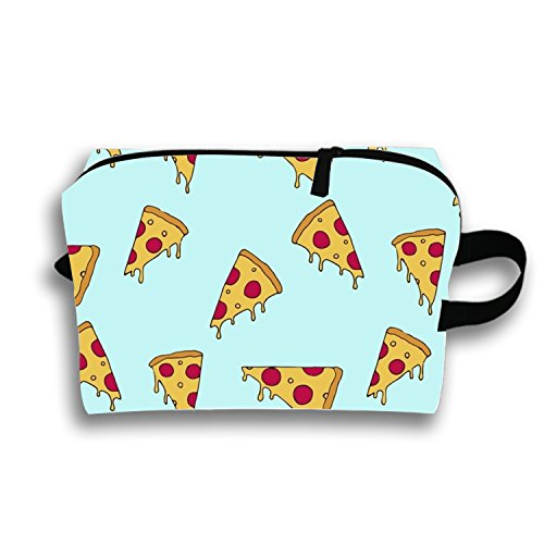 The 'Fyre Festival Of Pizza Makeup Bags Travel Toiletry Bag for womens and mens