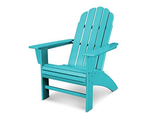 POLYWOOD Vineyard Curveback Adirondack Chair (Aruba)