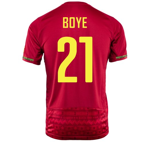 (PUMA BOYE #21 GHANA AWAY JERSEY WORLD CUP 2014 (2XL))