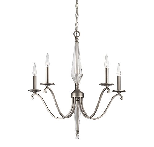 Savoy House 1-380-5-43 Kendall Five Light Chandelier in Vintage (Kendall 5 Light Chandelier)