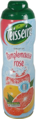 Teisseire PINK Grapefruit Syrup Pamplemousse 600 ml 20.3 fl oz, One