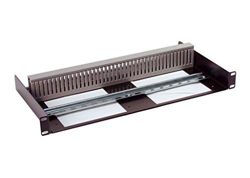 (1U Rackmount DIN Rail Panel / Shelf for 19