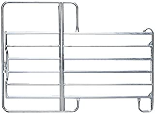 Pannello con Porta di 3,60 m, H = 2,20 m, zinc - 310208