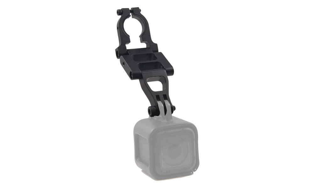 BlendMount BGP-2000R Aluminum Action Camera Mount for GoPro/Garmin VIRB X/XE - Compatible with Most American and Asian Vehicles - Made in USA - Looks Factory Installed