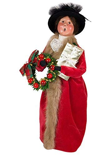 Byers' Choice Victorian Family Woman Caroler Figurine #113W from The Specialty Families Collection
