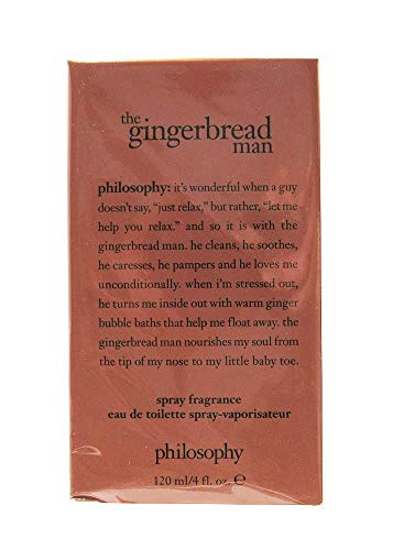 Philosophy Spray Fragrance Eau De Toilette 120/4 fl. oz. (The Gingerbread Man) ()
