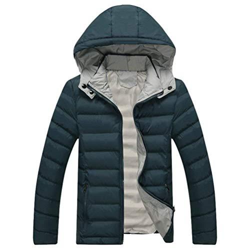 Parka Respirants Coupe Chaud Saoye Plein Veste Mode En Hommes D'hiver Air vent Grün Vêtements Capuche À Épaissir p8g8U