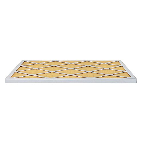 FilterBuy 24x36x1 MERV 11 Pleated AC Furnace Air Filter, (Pack of 4 Filters), 24x36x1 – Gold by FilterBuy (Image #3)