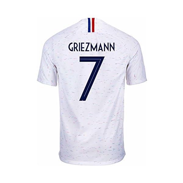 b8b22ff3772 NIKE Griezmann  7 France Away Men s Soccer Jersey World Cup Russia 2018 ⋆  soccerstylenow