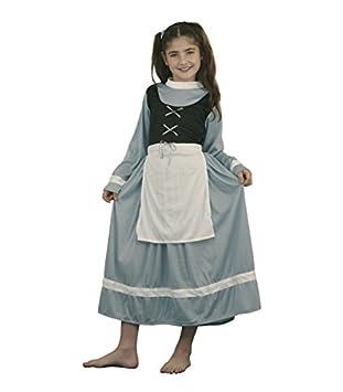 Disfraz de Cenicienta infantil - Talla - 7-9 años: Amazon.es ...