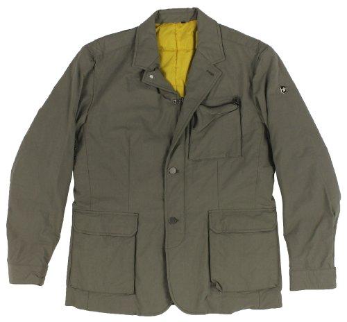 Victorinox Swiss Army Men's Water-Repellent Insulated Nylon Blazer (42 Regular, Dark Stone)