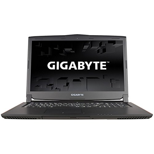 CUK Gigabyte P57Xv7 Gamer VR Ready Notebook (Intel i7-7700HQ, 32GB DDR4 RAM, 512GB NVMe SSD + 1TB HDD, NVIDIA GTX 1070 8GB) 17.3-inch QHD 120Hz 2560x1440 Display Windows 10 Gaming Laptop Computer