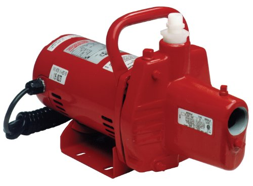 Red Lion RJSE-50 1/2 HP 115V Portable Sprinkler Pump Cast Iron Sprinkler Pump