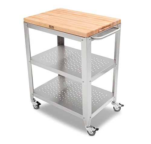 Commercial Kitchen Cart Cutting Professional Table: Compare Price To Industrial Butcher Block Table