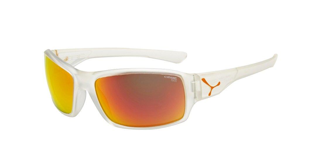 Cebe Haka Sunglasses (1500 Green Fm Lens Matt Translucide Grey Frame) S1YFcvOR