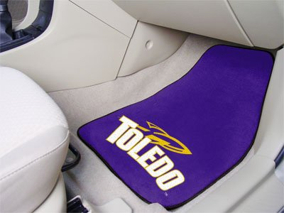 Toledo Rockets Car Mats (University of Toledo 2 Piece Front Car Mats)