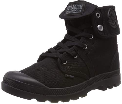Sneaker black A Collo Us Baggy H 466 Alto Palladium black W Uomo Nero qwIROanRP