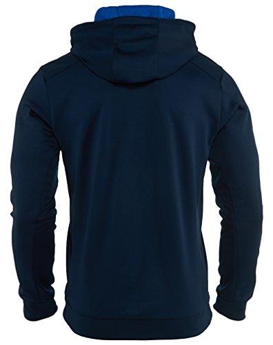 Nike Ko Bloc Sweat-shirt Bleu Marine À Capuche Pour Hommes Sweat À Capuche Taille S