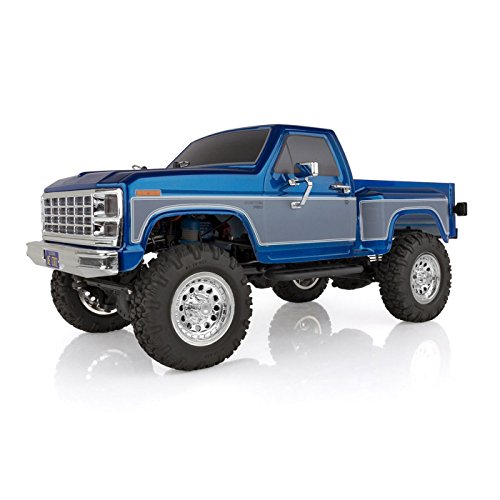 Team Associated 40002 CR12 Ford F-150 Pick Up Truck Ready to Run, Electric 1: 12th Scale 4WD, Brushed (Blue) (Best Rc Trail Truck)